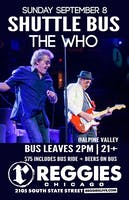 Reggies Roadtrip to The Who at Alpine Valley!
