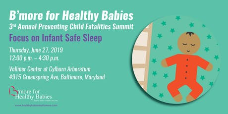 B'more for Health Babies Safe Sleep Summit tickets