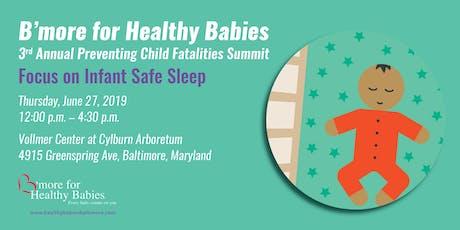 B'more for Health Babies Safe Sleep Summit tickets