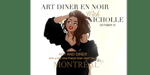 Art Dinatoire With Nicholle Kobi MONTREAL