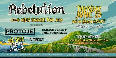 Rebelution:  Good Vibes Summer Tour 2019