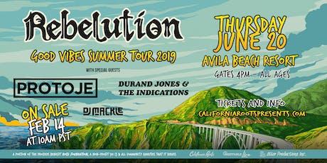 Rebelution:  Good Vibes Summer Tour 2019 tickets