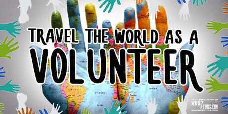 Travel The World As A Volunteer For Your Own 501(c)(3) Organization tickets