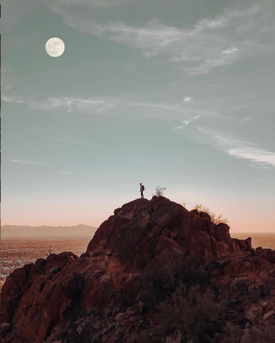 Full Moon Hike @ South Mountain
