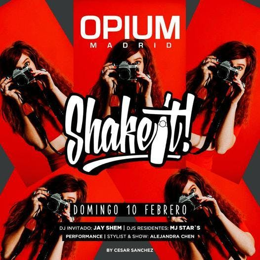 Sunday Shake It! at Opium Free Guestlist - 2/