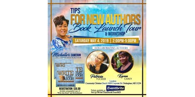 Tips For New Authors Book Launch Tour & Workshop - Maryland
