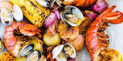 Summer Clam Bake with Chop, Wok, and Talk!