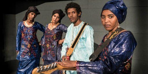 Les Filles de Illighadad w/ Abdou Kambaye & Buffalo Nichols