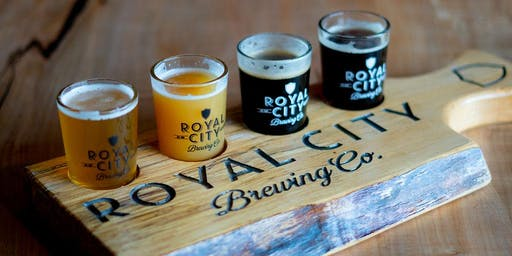 Royal City Brewing- Spring Tours & Tastings
