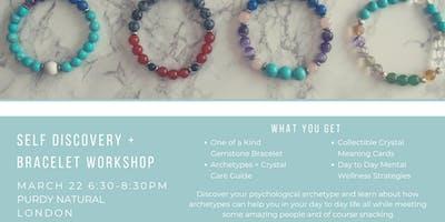 Self Discovery + Gemstone Bracelet Workshop