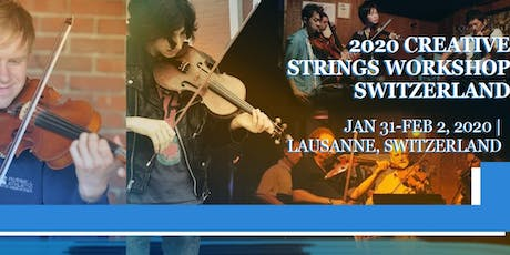 Creative Strings Workshop - Europe billets