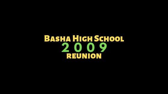 Basha High School Class of 2009 Reunion