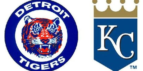 Detroit Tigers vs. Kansas City Royals tickets