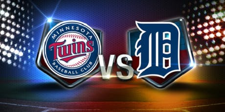 Detroit Tigers vs. Minnesota Twins tickets