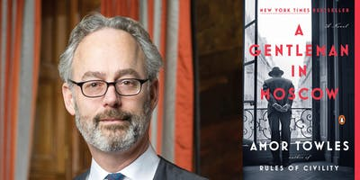 Amor Towles: A Gentleman in Moscow at First Unitarian Church