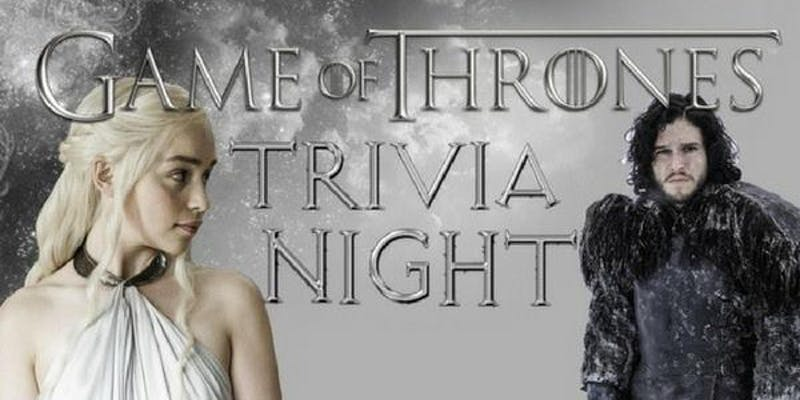 game of thrones trivia Nights denver colorado