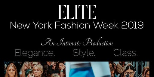 Elite NYFW 2019  'Give Me Face Edition'