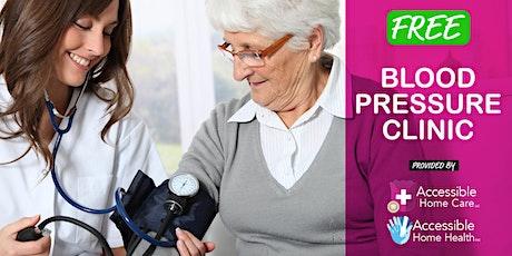 Blood Pressure Clinic @ Golden Wheel Senior Center tickets