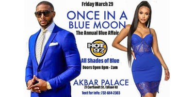 """ONCE IN A BLUE MOON"" The 1st Annual Blue Affair"