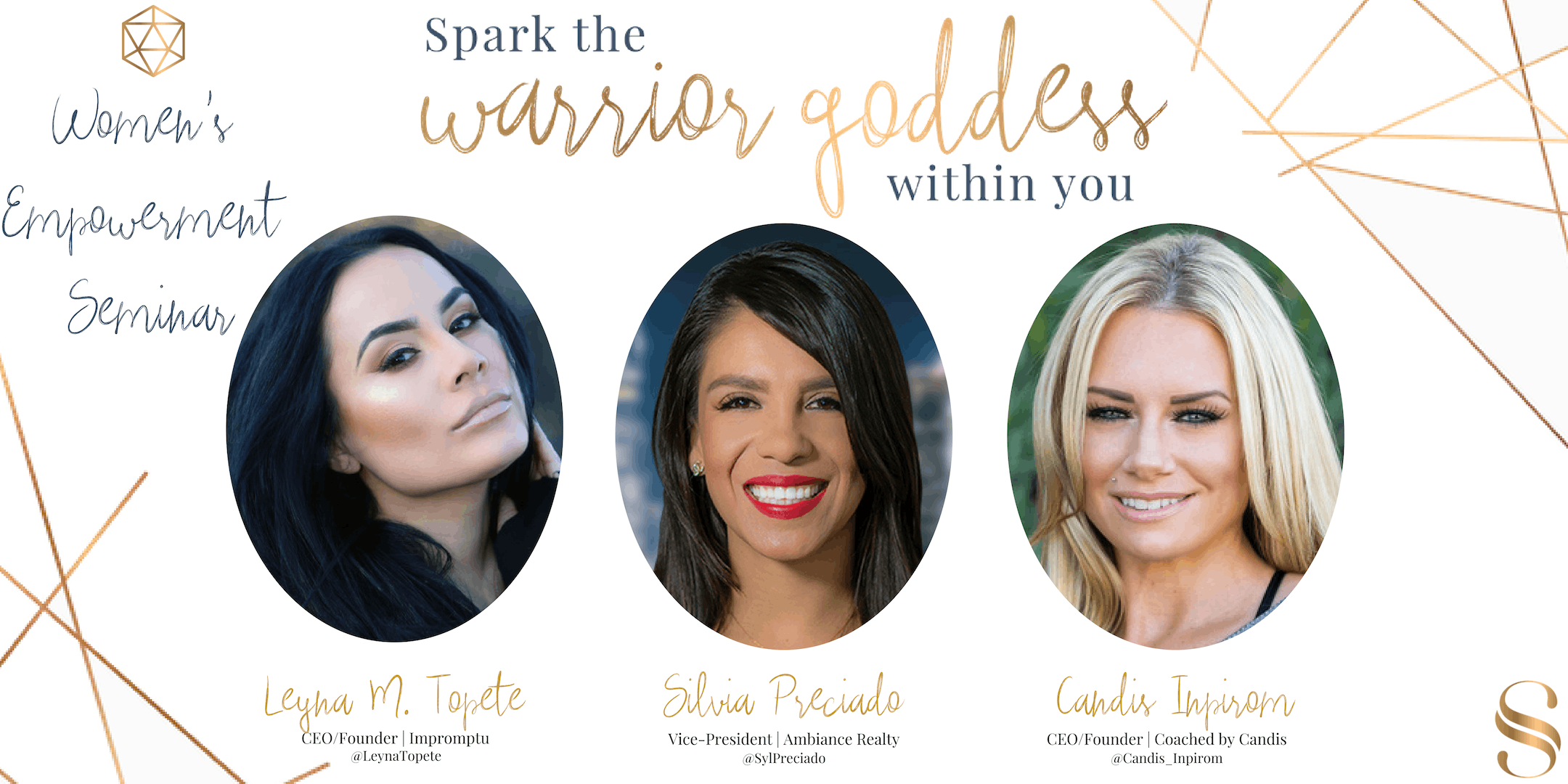 Spark the Warrior Goddess within you!