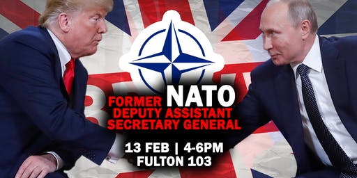European Security in the age of Trump, Putin and Brexit (CANCELLED)