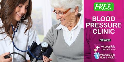 Blood Pressure Clinic @ Clifton Senior Center