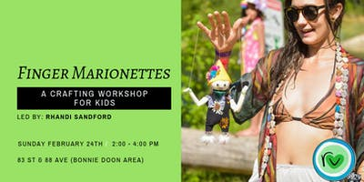 Finger Marionettes: A Crafting Workshop For Kids