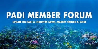 PADI Member Forum 2019 - Cairns