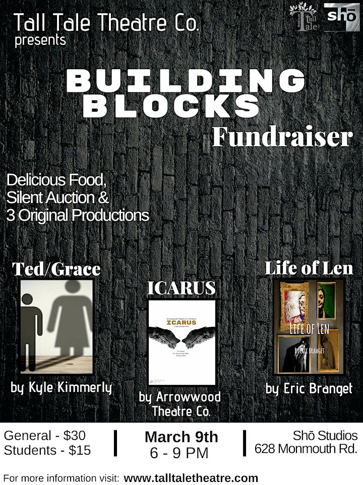 "Tall Tale Theatre Company's ""Building Blocks Fundraiser"" image"