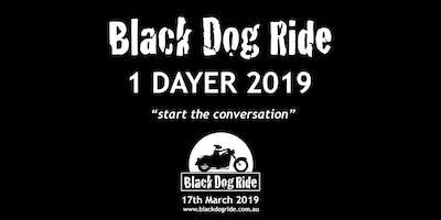 Wangaratta VIC - Black Dog Ride 1 Dayer 2019