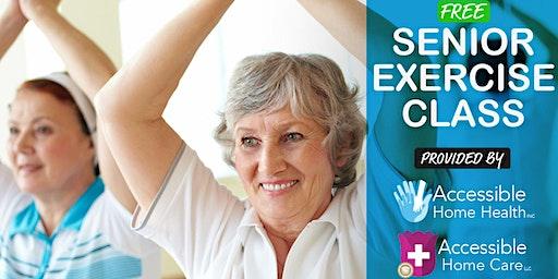 Senior Exercise Class @ Residence 600