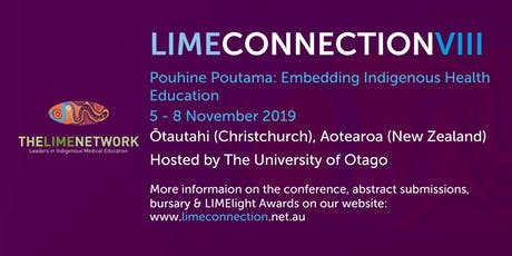 LIME Connection VIII: Pouhine Poutama Embedding Indigenous Health Education tickets