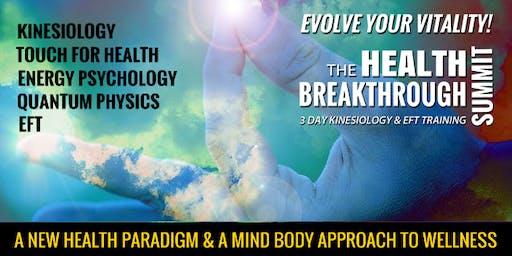 THE HEALTH BREAKTHROUGH SUMMIT - SYDNEY  Accredited Training