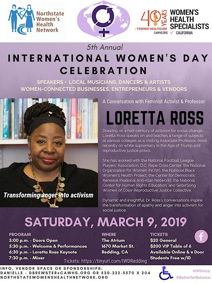 5th Annual International Women's Day Celebration image
