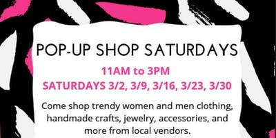 Pop-Up Shop Saturdays