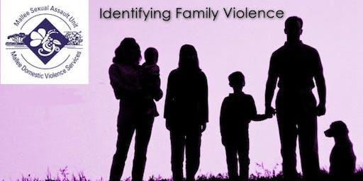 Identifying Family Violence Training - Mildura