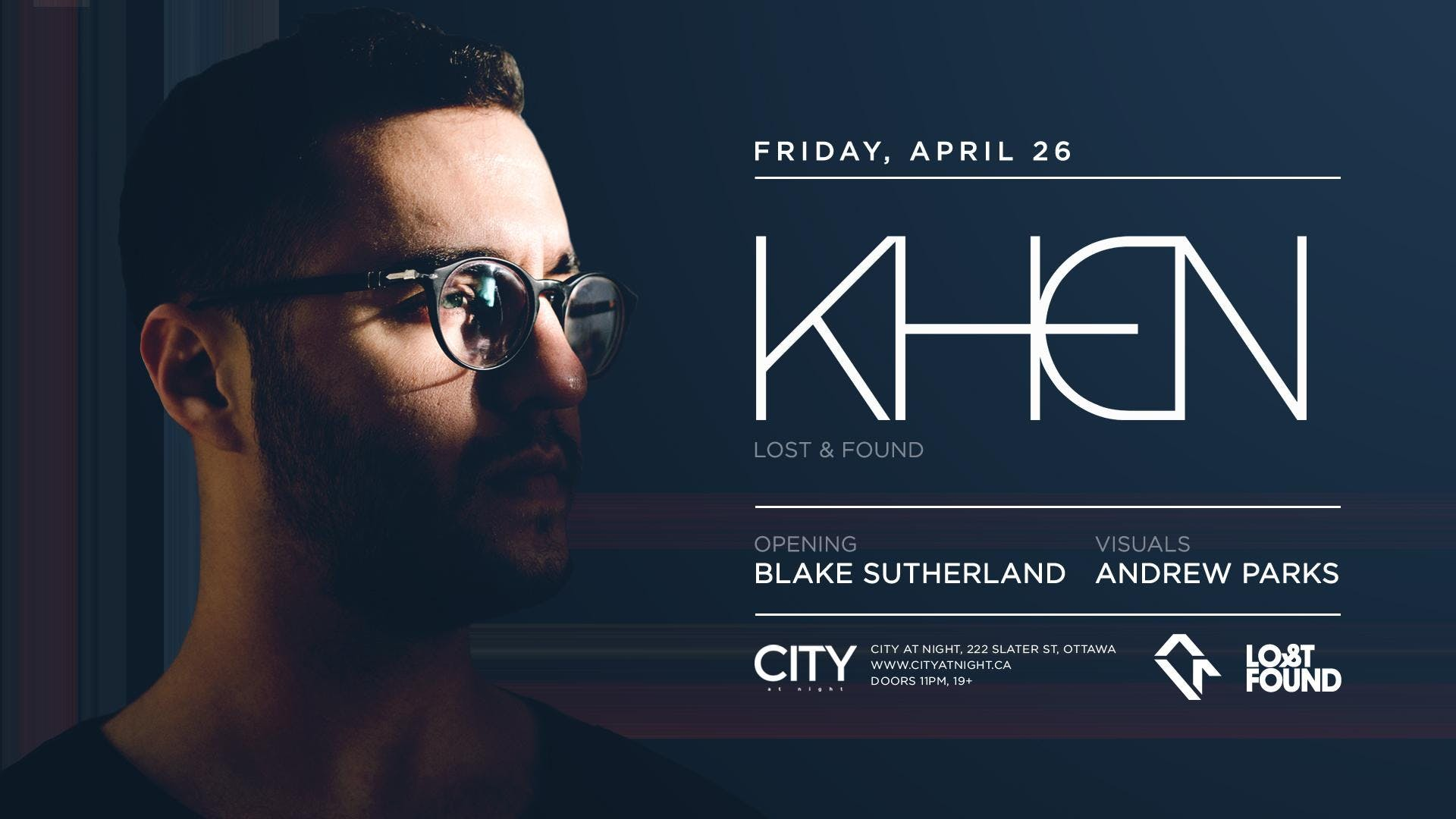Khen at City At Night : Cityscape Sessions