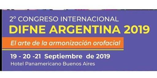 2do CONGRESO INTERNACIONAL DIFNE ARGENTINA El arte de la Armonización Orofacial