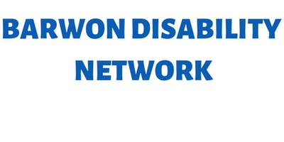 Barwon Disability Network - Thursday  25 July 2019