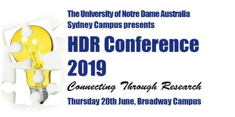 HDR Conference 2019 (Connecting Through Research) tickets