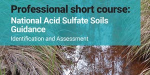 Professional Short Course: National Acid Sulfate Soils...