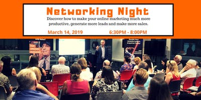 8th Networking Night: Come Along And Join Like-Minded Business Owners