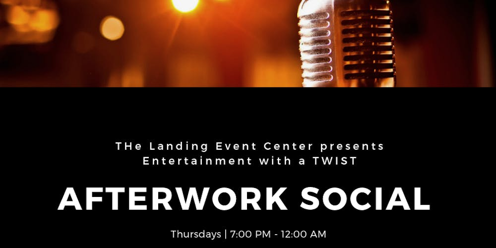 Afterwork Social Coming Soon Tickets Multiple Dates Eventbrite