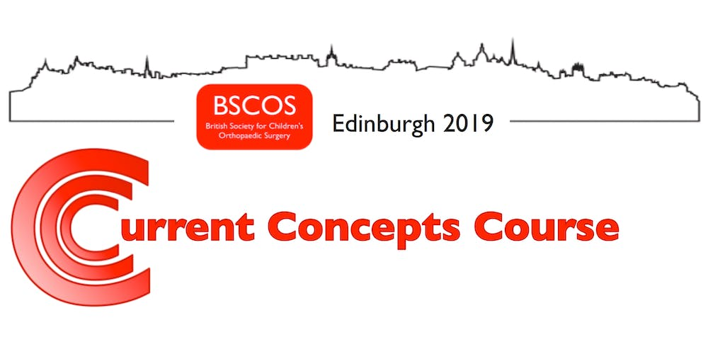 BSCOS - Current Concepts Course 2019 Tickets, Wed 6 Nov 2019 at 08