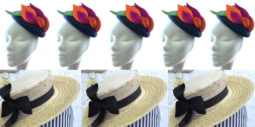 3 day Millinery Summer School, Hat Works