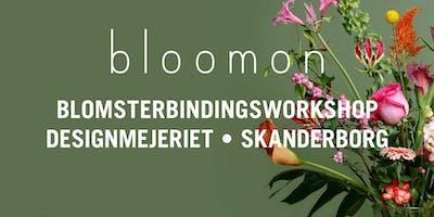 bloomon blomsterbindings-workshop 3. april | Skanderborg, Designmejeriet