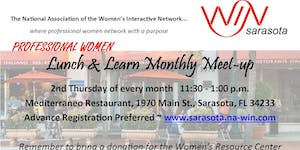 Professional Women Lunch & Learn - Monthly Meetup