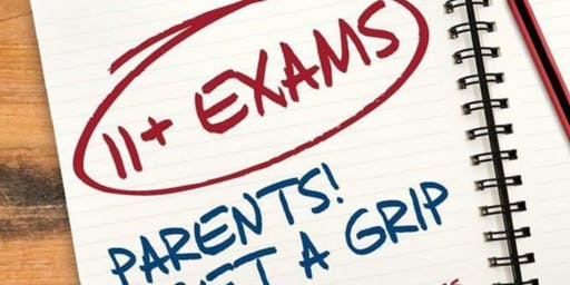 Pen to Print: 11+ - Exams Parents! Get a Grip with Foluke Sangobowale