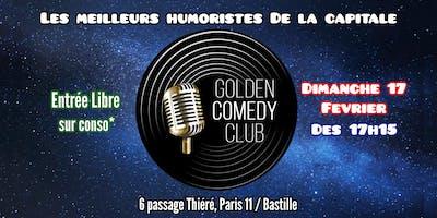 La 50eme du GOLDEN COMEDY CLUB