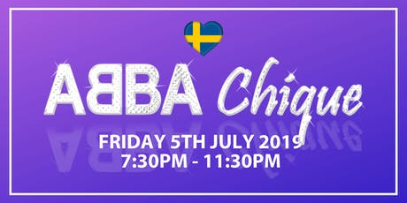 Reigate Manor presents ABBA Chique tickets